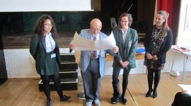Holocaust Survivor talks to Year 9 pupils