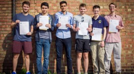 Top A-Level Results at CCGS