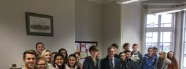 Local MP Craig Mackinlay's visit to the school