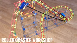 Thrills to be had at the Dreamland Rollercoaster workshop