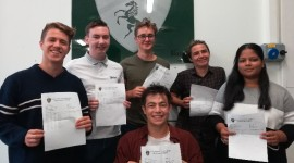 Top pass rate for A-Level Students