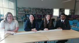 School Challenge Quiz Team Success