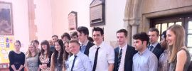Head Boy Baptised